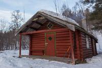 Elvestua in indre Troms
