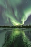The aurora got really bright...