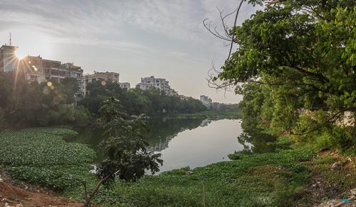 Panorama at Banani Lake