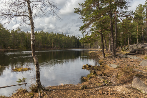 Nedre Blanksjø, a pretty little lake
