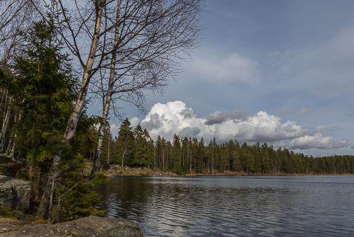 Svartkulp, a lake near Sognsvann