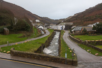 View from our hotel room in Boscastle