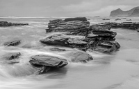 I converted this photo to black & white, as it hardly had any colour to start with