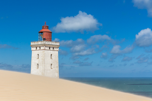 Rubjerg Knude Lighthouse threatened by continuously moving sand