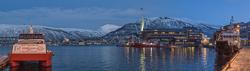 Tromsø at dusk