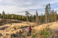 On the way from Kleivstua to the viewpoint