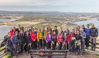 Group photo at the viewpoint :)