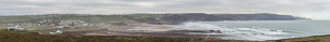 Even wider panorama of Widemouth Bay :)