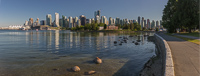 Downtown Vancouver seen from the Seawall
