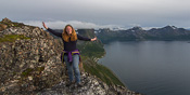 And me on the top, with Rekvik far below
