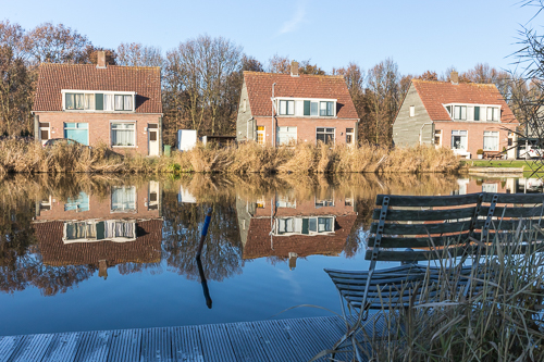 Houses along de Rotte - must be a nice place to live!