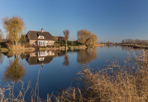 Nice house along de Rotte