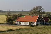 A house just behind the dyke
