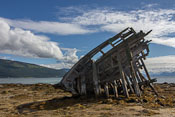 The big shipwreck on the beach