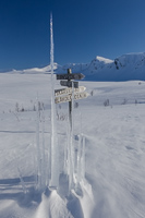 Icicles and a great view :)