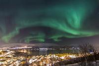 Aurora over Hamna, Tromsø