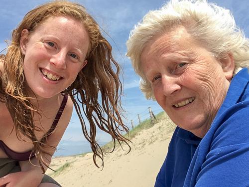 Selfie with my mum :)