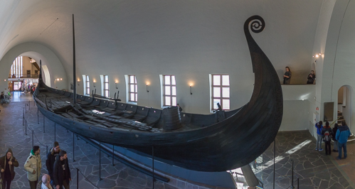 Viking Ship Panorama
