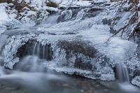 Another part of the frozen waterfall