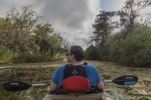 Kayak tour near Everglades National Park
