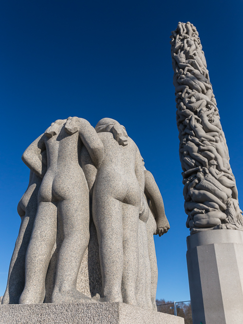 Vigelandsparken - I have visited many time but I still discover new details and still get impressed