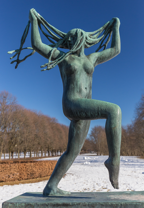My favourite sculpture: the dancing girl with the wild hair