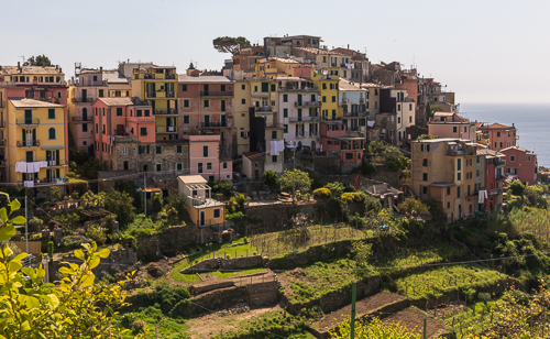 And the third village: Corniglia