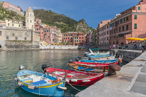 The port of Vernazza