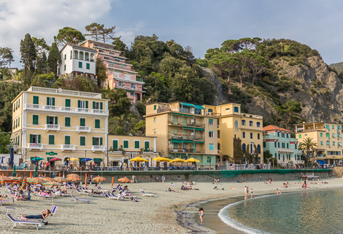 The final of the 5 villages: Monterosso al Mare