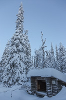 Our destination for the day: Soilun Laavu, a typical Finnish 'lean-to' shelter