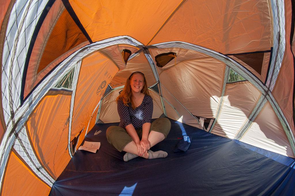 Mountain Hardwear Ev 3 Person Tent