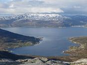 Kvaløyvågen seen from Nordtinden