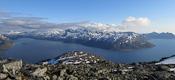 Looking into Kaldfjorden