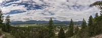 Last panorama from Radium Hot Springs