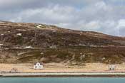 Old houses on the island of Burøya