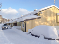 Home - so glad we pay someone to clear the snow in the parking lot. He won't do my car though (on the right) ;)