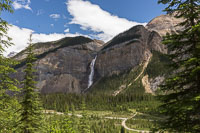 Takkakaw Falls in Little Yoho Valley
