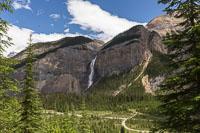 Takkakaw Falls in Little Yoho Valley
