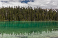 Amazingly green Yoho Lake