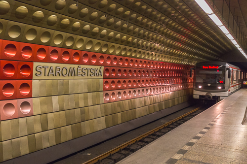 A very cool metro station