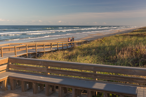 Beach views in Canaveral National Seashore