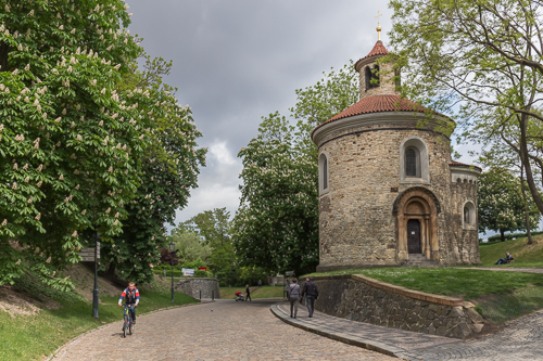 The rotunda of St Martin at Vyšehrad