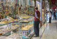 Lots of bling for sale at the Grand Bazaar