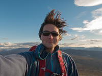 It was very windy on the top ;)