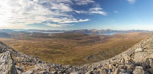 Beautiful views towards Ringvassøya