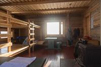 Inside Nammalakuru Wilderness Hut