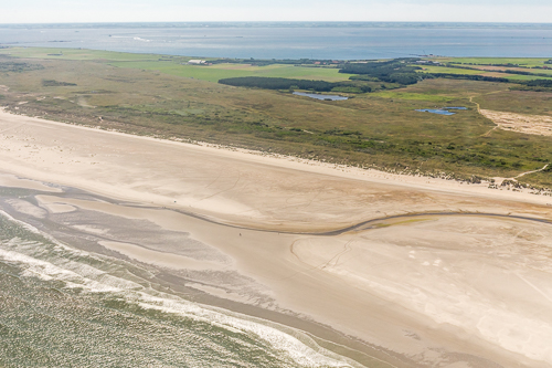 Huge beach at Ameland
