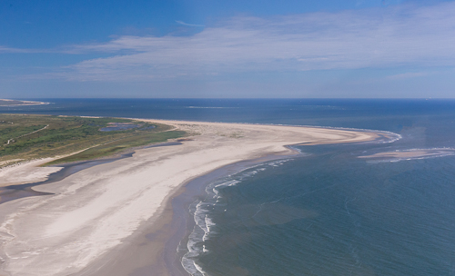 Beautiful beach at Ameland