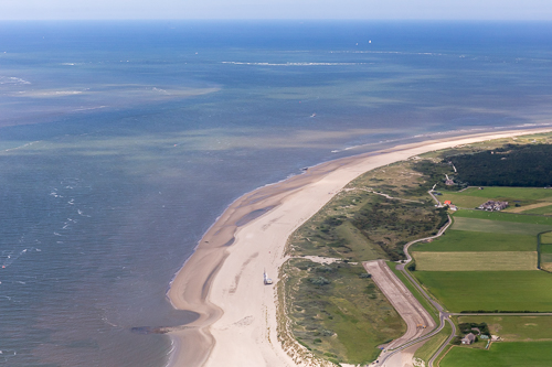 Another photo of the beach at Ameland
