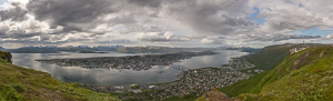 I can never resist another panorama of Tromsø island :)